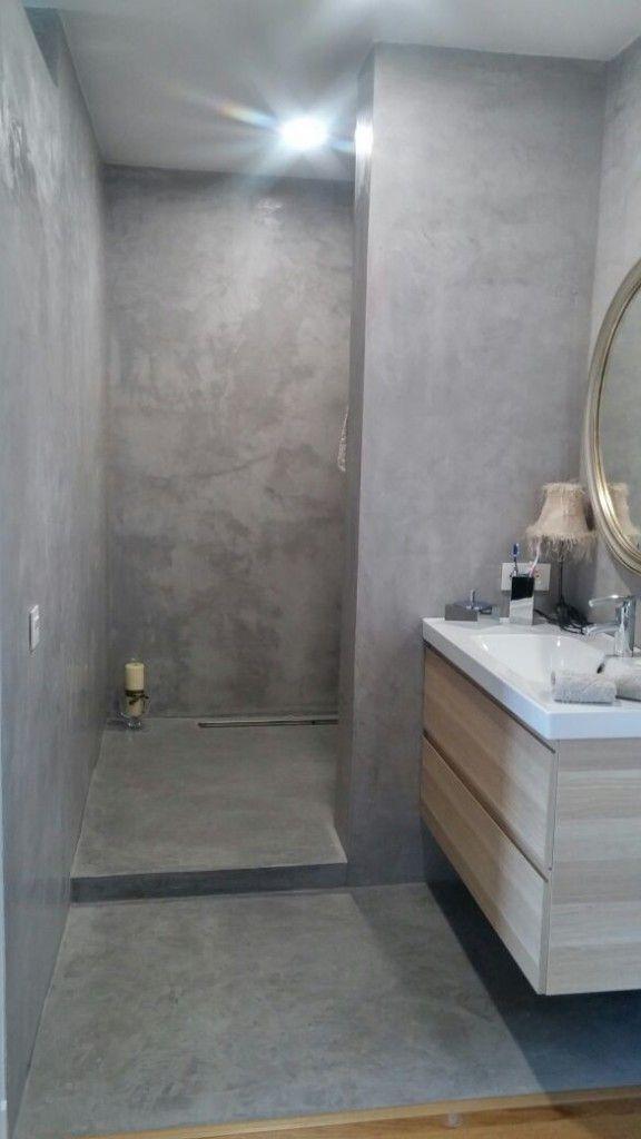 Resultado de imagen de baños de microcemento pulido | Cuartos de ...