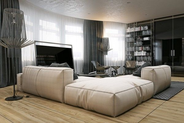4 masculine apartments with super comfy sofas and sleek color palettes amazing ideas