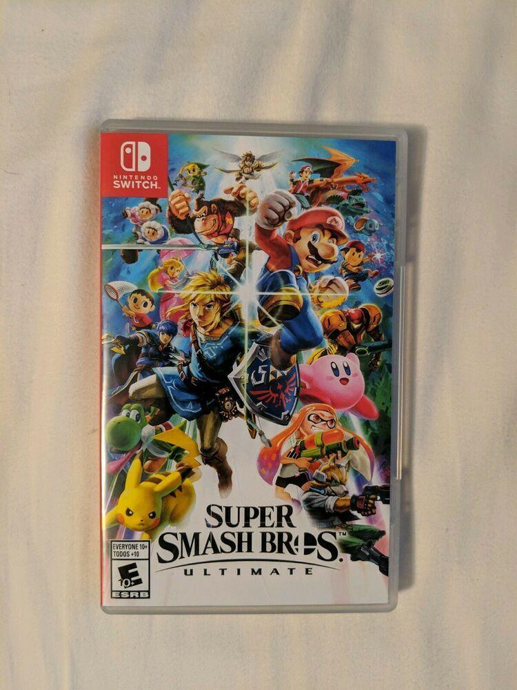 nintendo switch super smash bros ultimate code