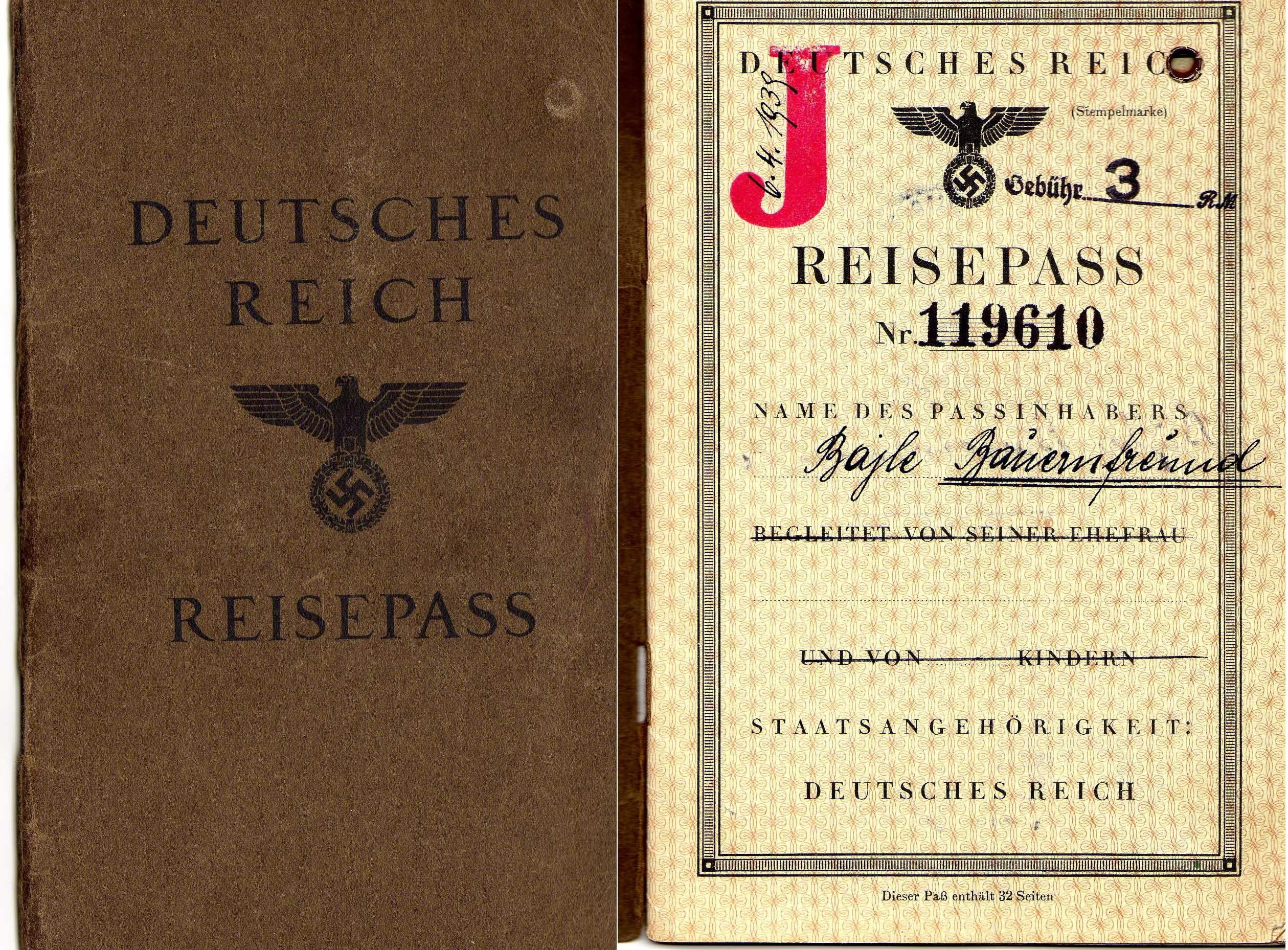 passport inside cover - Google Search