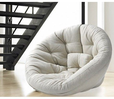 fauteuil pouf futon nest pour la maison la maison et id es pour la maison. Black Bedroom Furniture Sets. Home Design Ideas