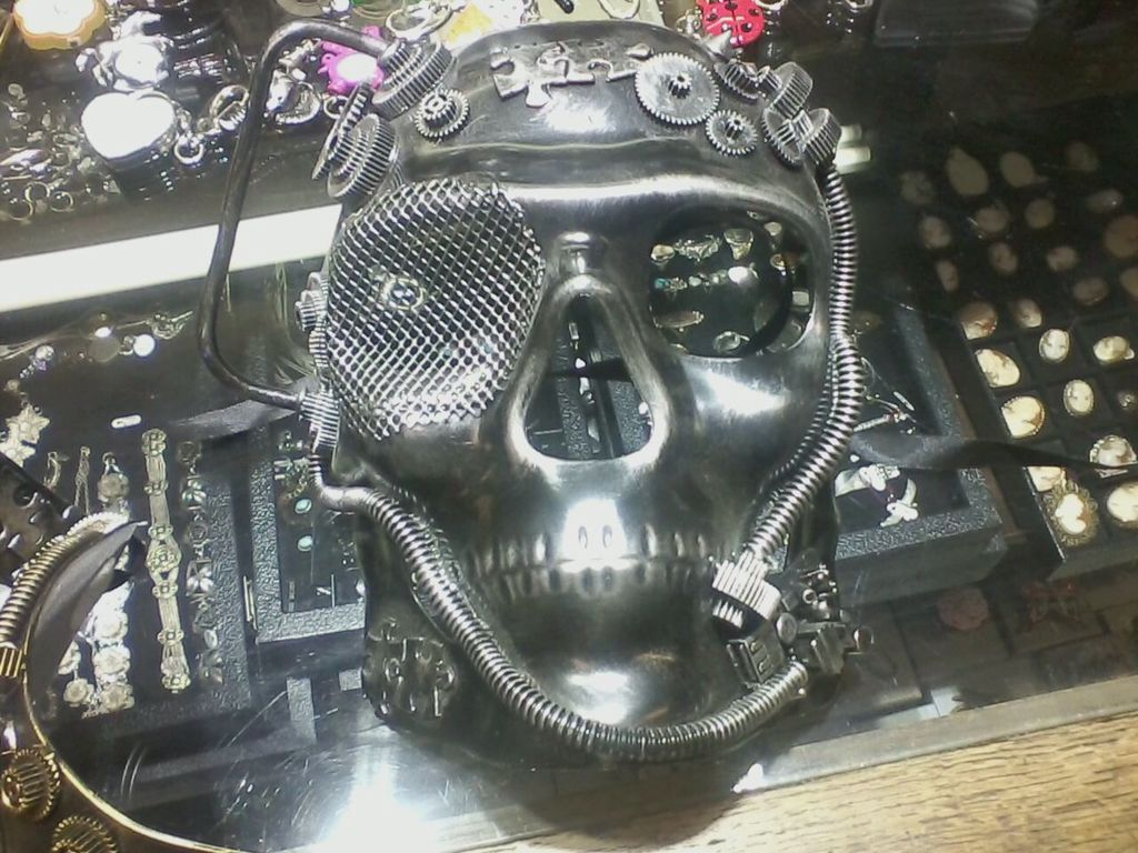 One Of Many Amazing Steampunk Masks Available At The Old Hotel Gift In Weaverville