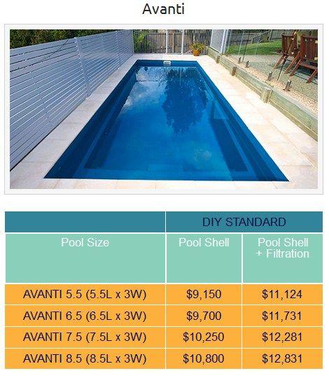 Avanti Lap Pool Design Lap Pool Designs Pool Cost Fiberglass Pools
