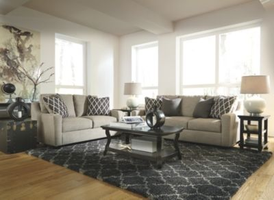 Crislyn Sofa And Loveseat By Ashley Homestore Stone Living Room Furniture Layout Living Room Furniture Furniture