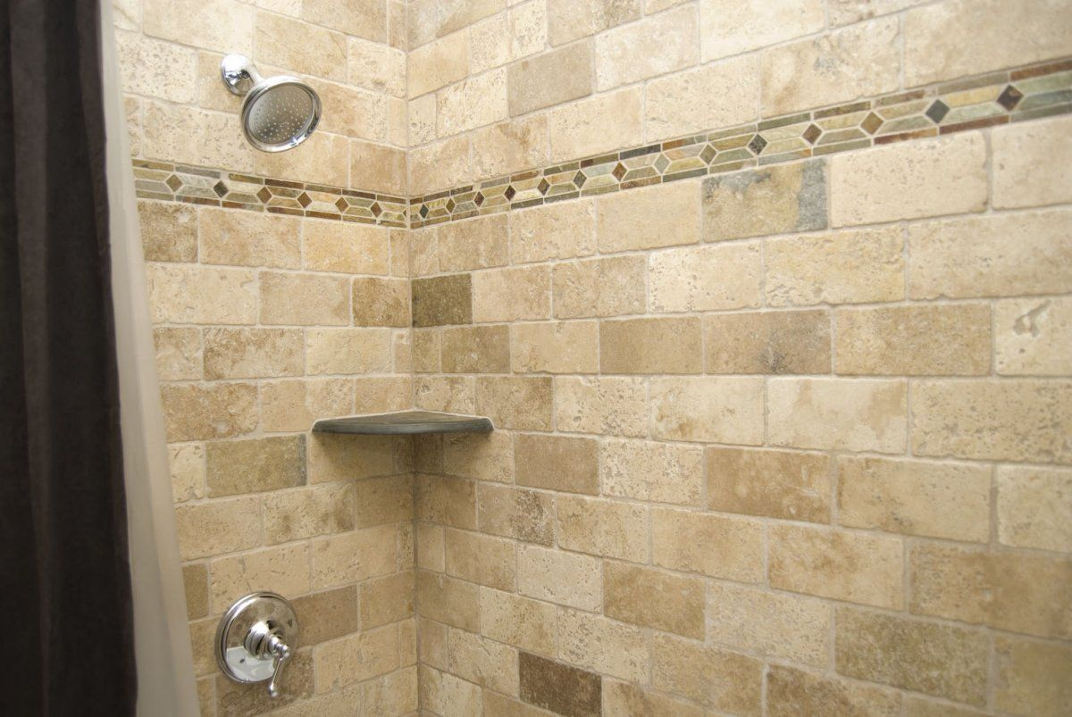 Waterfall Shower Ideas Rustic Natural Look Bathroom Remodel Idea With Natural