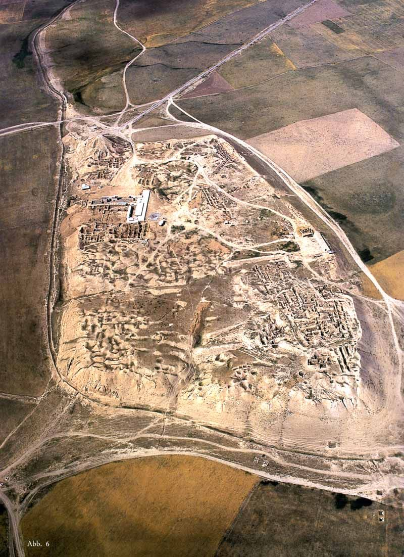 Nimrud archaeological site where Max Mallowan did