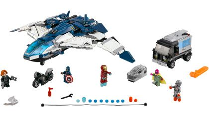 The Avengers Quinjet City Chase - 76032
