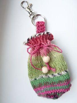 Photo of Strickanleitung für eine kleine Tasche