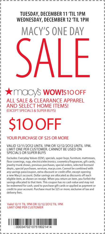 Macys Deal! (With images) Macys coupons, Macys