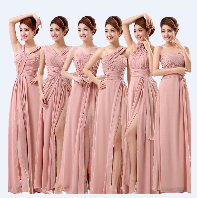 Find More Information About Dusty Pink Bridesmaid Dresses