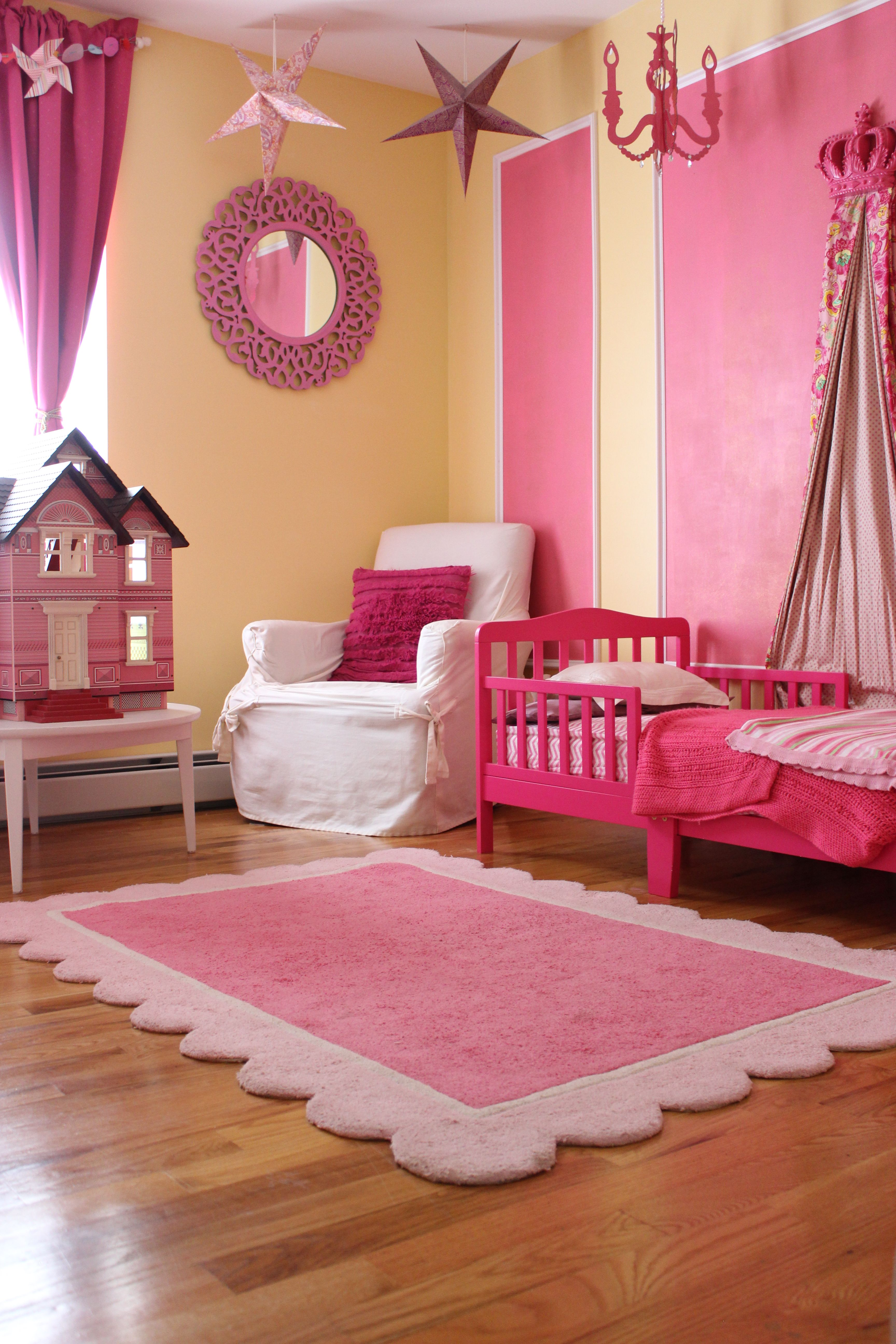 Adorable Little Girl S Bedroom Ideas Yellow And Pink Princess
