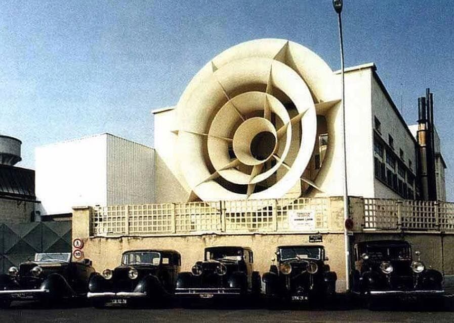 Modern Architecture France hispano-suiza wind tunnel, bois-colombes, france, 1937 | o