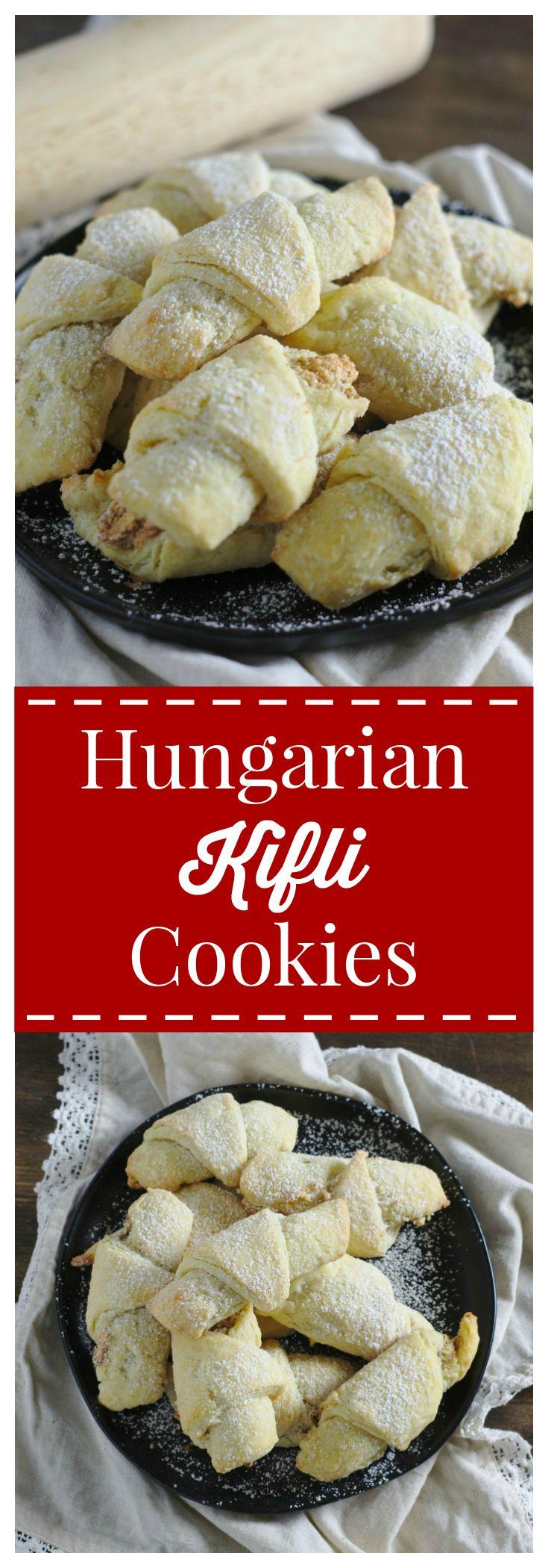 Hungarian Kifli Cookies Recipe Easy Cookie Recipes Yummy Cookies Recipes
