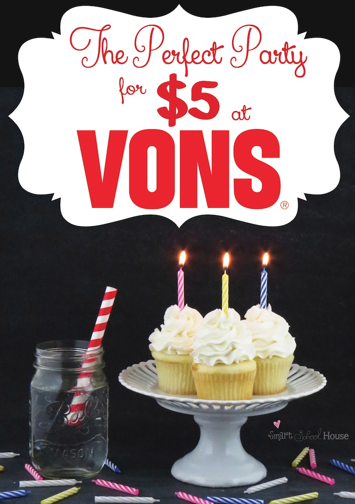 The Picture Perfect Party For 5 From Vons Pavilions Or Safeway BirthdayBundle PMedia