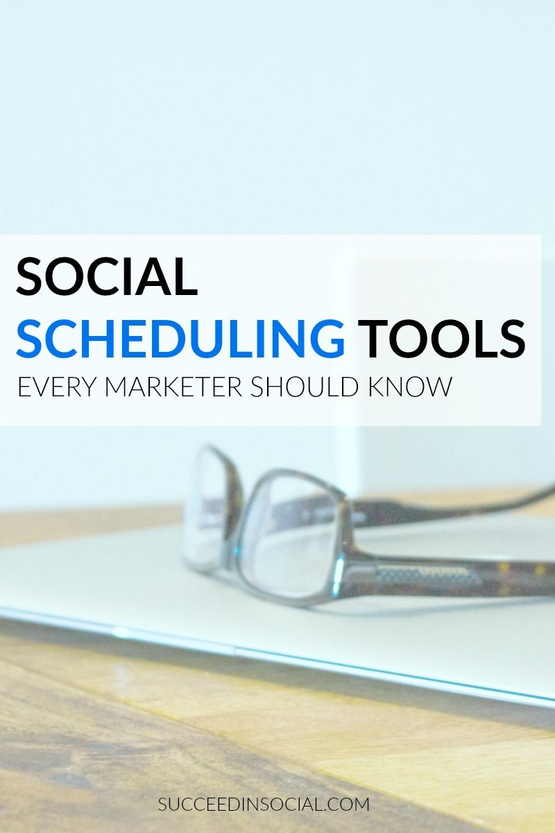 4 social scheduling tools you should be using in your marketing strategy