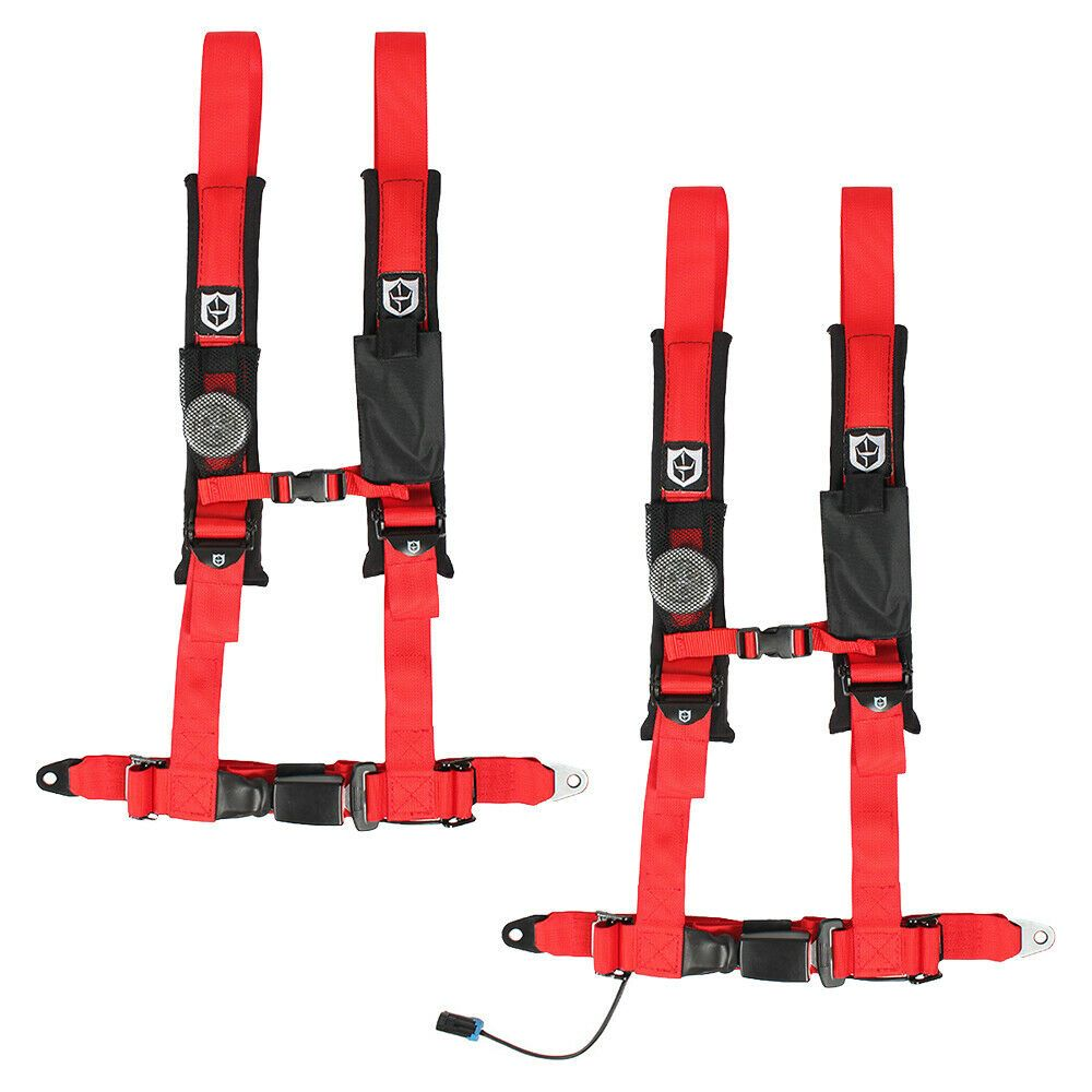 Ebay Advertisement Pro Armor 4 Point Harness Polaris Rzr Auto Belt Driver Passenger Seat Red Safety Belt Polaris Rzr Seat Belt Harness