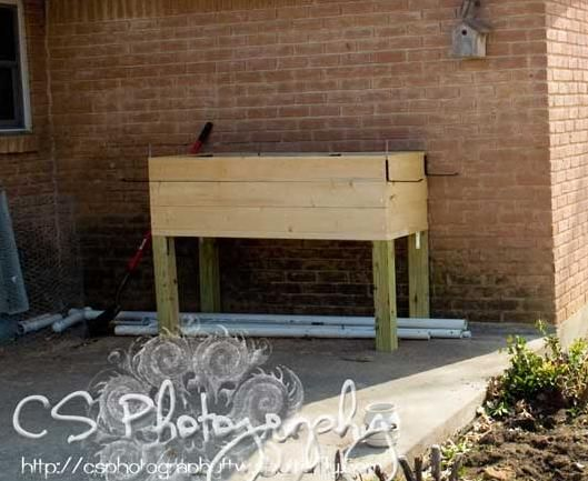 Ana White   Build A Elevated Planter Box   Free And Easy DIY Project And  Furniture