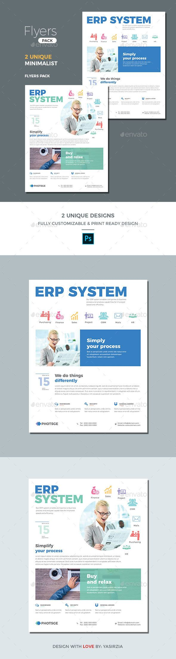 erp flyer templates flyer template template and business flyers