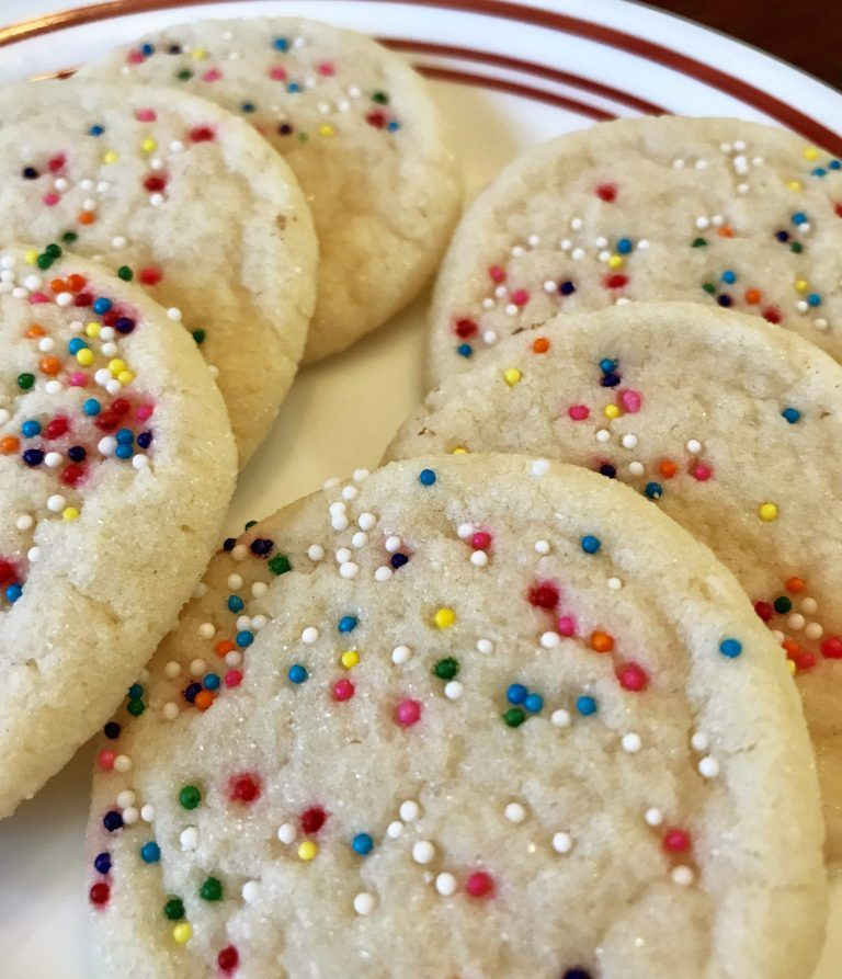 Soft And Chewy Egg Free Sugar Cookies Egg Free Cookies Recipes Vegan Sugar Cookies Egg Free Baking