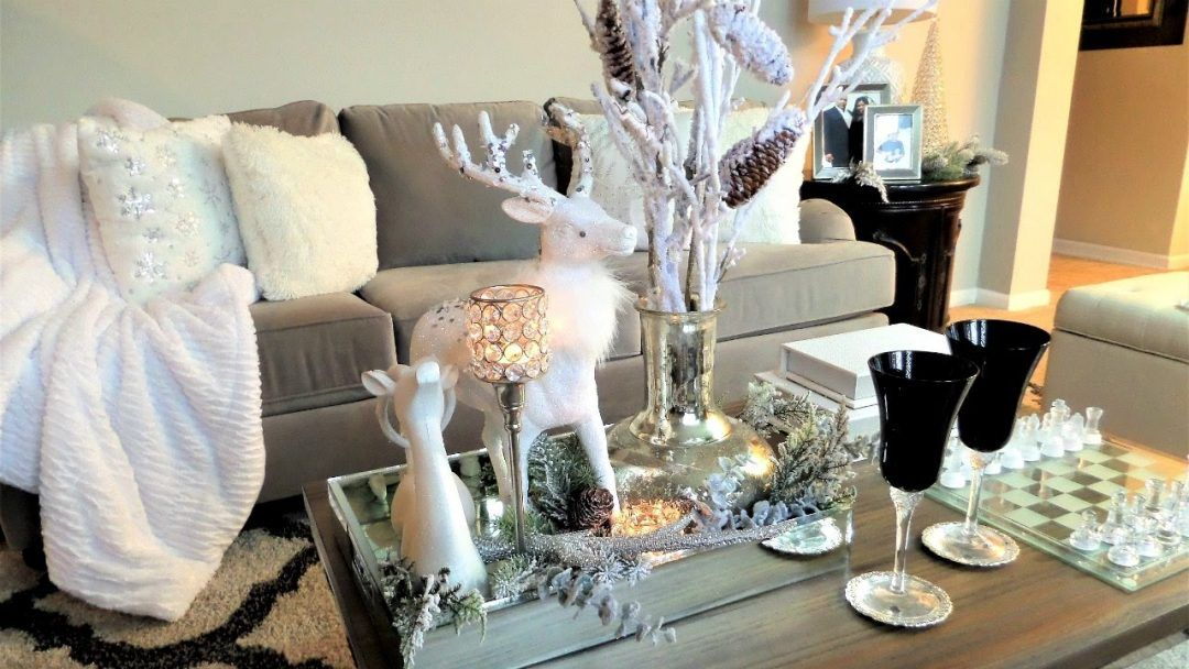 Ideas On How To Decorate Your Coffee Table For Christmas Cool Coffee Tables Decorating Coffee Tables Christmas Table Decorations
