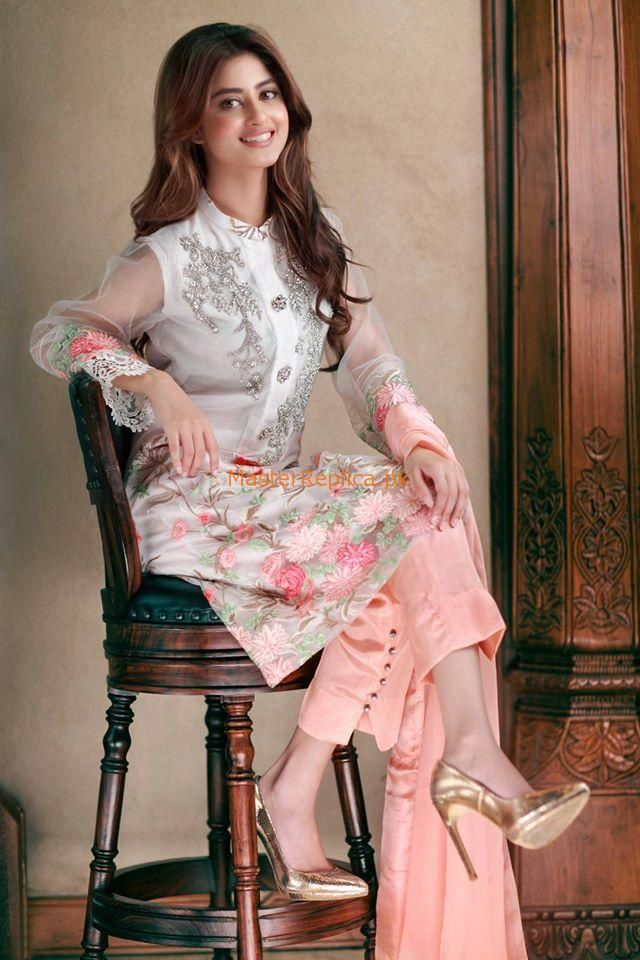 d8e8d8ae95 AGHA NOOR FULL NET SUIT WITH CHIFFON DUPATTAFabric: Net Embroidered Chiffon  Dupatta Embroidered Neck, front, and Daman Plain Back (net)