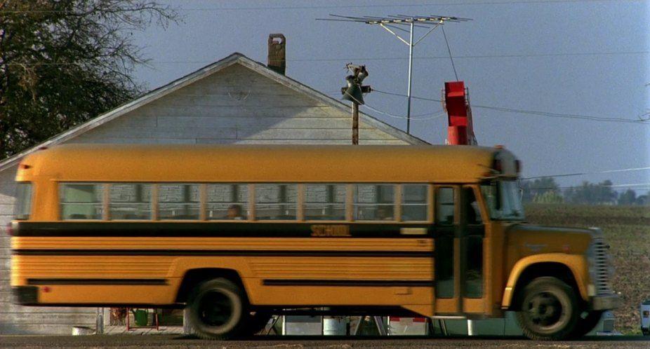 1966 School Bus With Images School Bus Old School Bus Bus