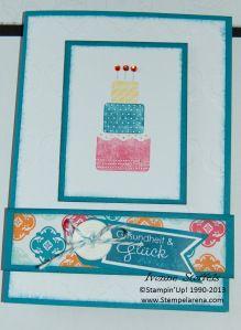 """Pop-Up-Karte """"Geschenke""""  Front"""