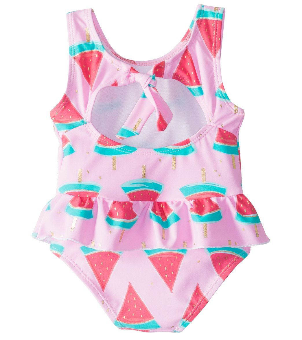b9648d96d0647 Snapper Rock Girls' Watermelon Skirted One Piece Swimsuit (3-24mos) at  SwimOutlet.com – The Web's most popular swim shop