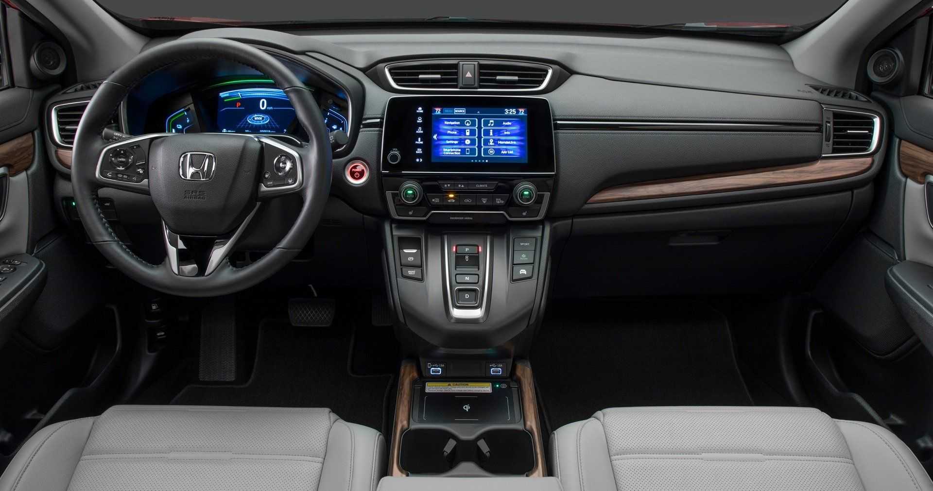 All New 2020 Honda Cr V Hybrid Features The Accord Hybrid Powertrain And Fresh Face Honda Crv Interior Honda Crv Hybrid Honda Crv