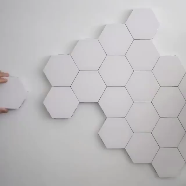 Combined Touch Sensing Honeycomb Light Buy 1 Get 2nd 10 Off Video Led Diy Modular Led Night Light