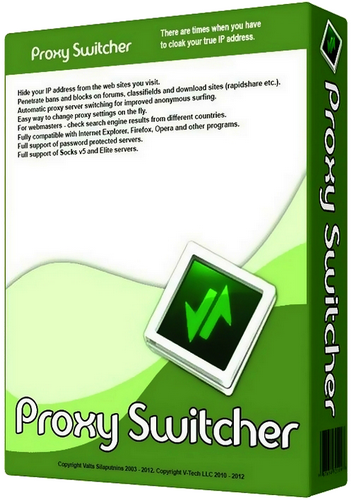 Proxy Switcher Pro 5 9 1 Crack And Serial Key Full Version