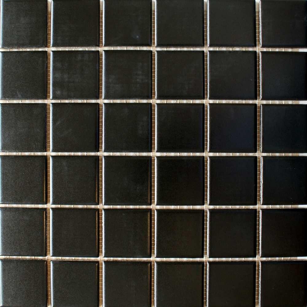 Matte Black Ceramic Tiles For Shower Walls