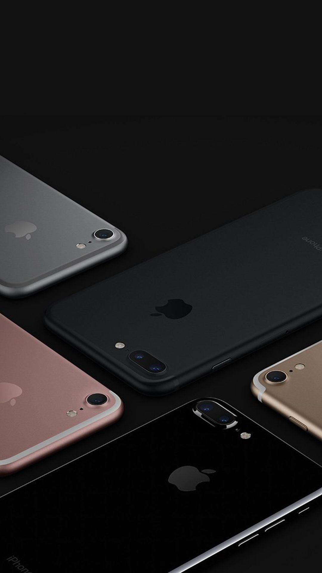 Wallpaper iphone jet black - Apple Iphone7 Jetblack Gold Pink Silver Dark Ios10 Art Illustration Iphone 6 Plus