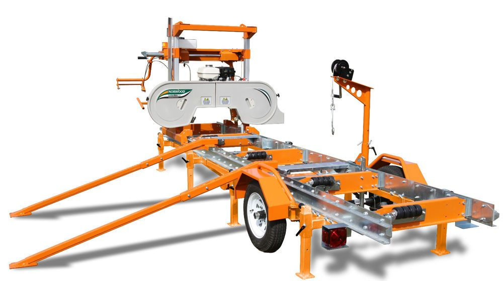 PORTABLE SAWMILL – BANDSAW MILL by Norwood Portable ...