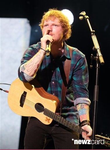 Singer-songwriter Ed Sheeran performed in concert at The Mann Center on Tuesday, May 26, 2015, in Philadelphia.