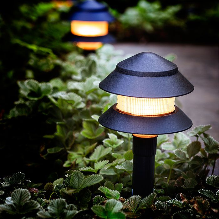 Use a landscaping kit to ring your outdoor space in light ...