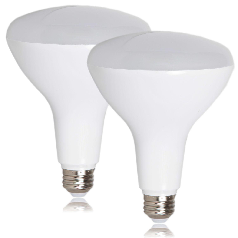 Dimmable Br40 Led 12 Watt 3000k Warm White 1100 Lumens 2 Pack Dimmable Light Bulbs Led Flood Lights Dimmable Led Lights