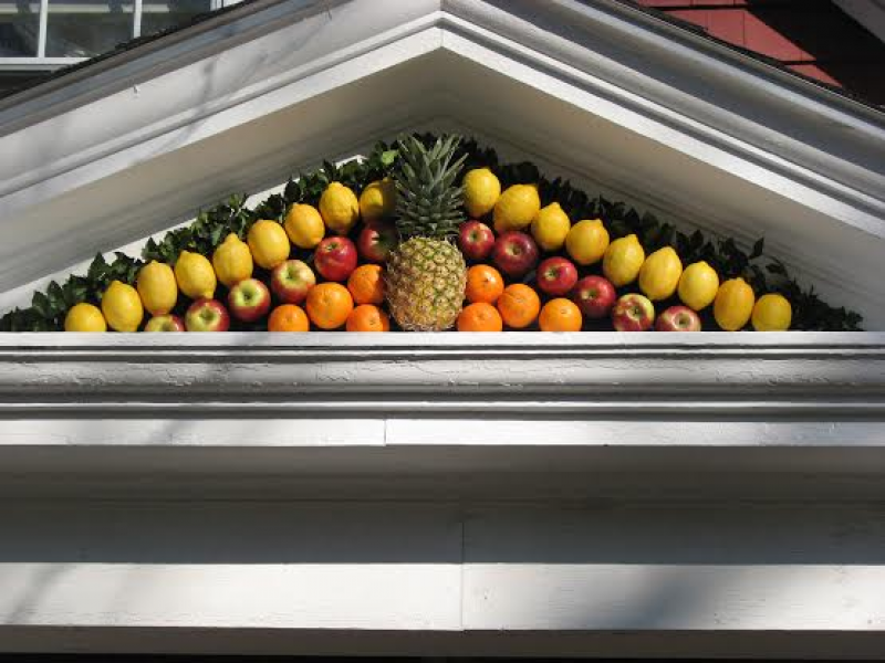 Amazing Holiday Doors: The Story Of A Fruit Fan On South Street
