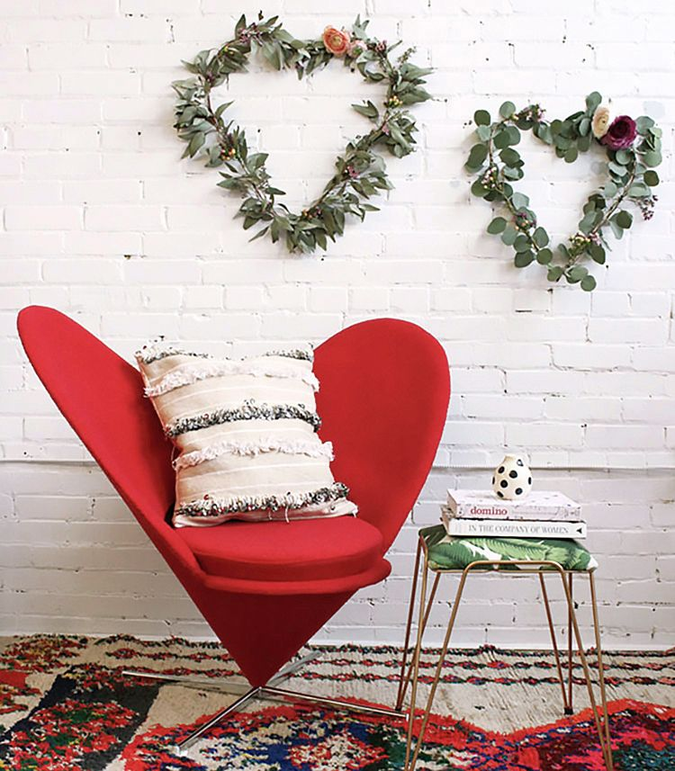 Simple Valentine's Day Decor to Inspire a Visit from Cupid | Musings on Momentum