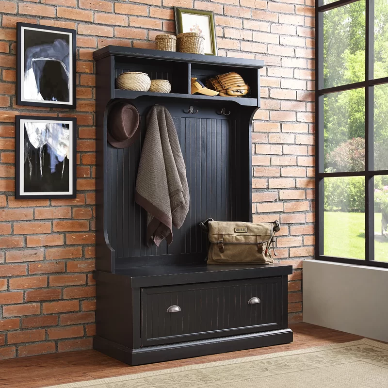 Halstead Hall Tree With Bench And Shoe Storage Mudroom Decor
