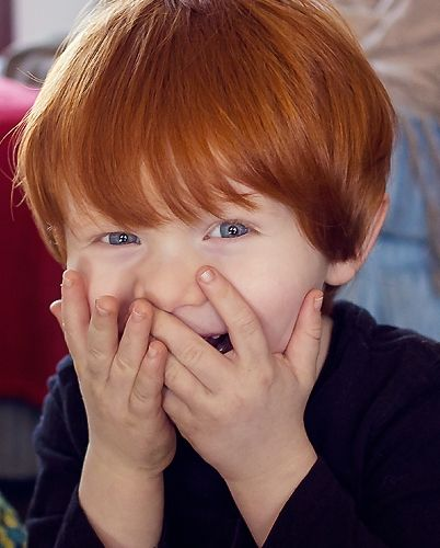 Cutre Red Haired Child Ginger Babies Red Hair