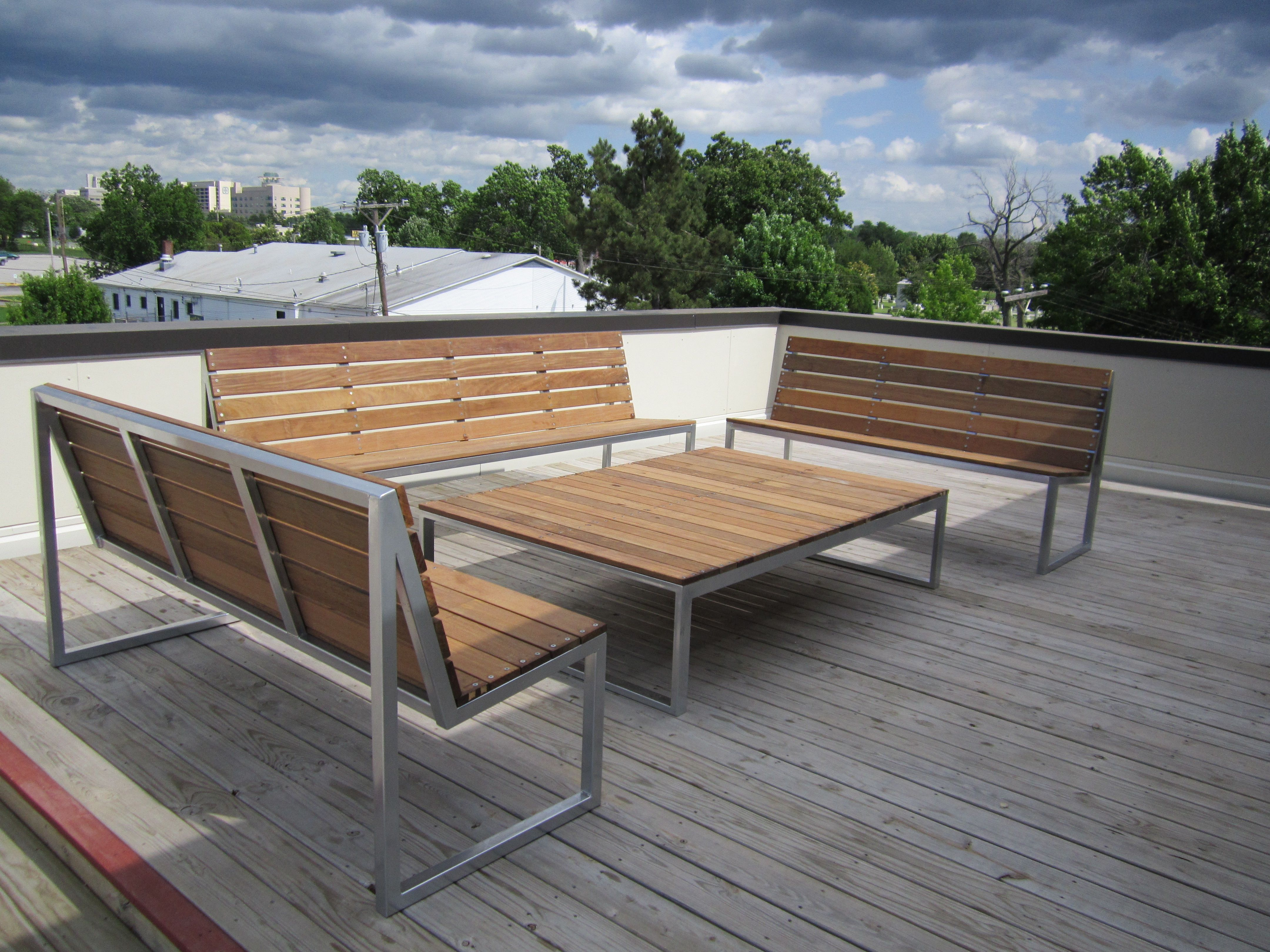 stainless steel outdoor furniture by