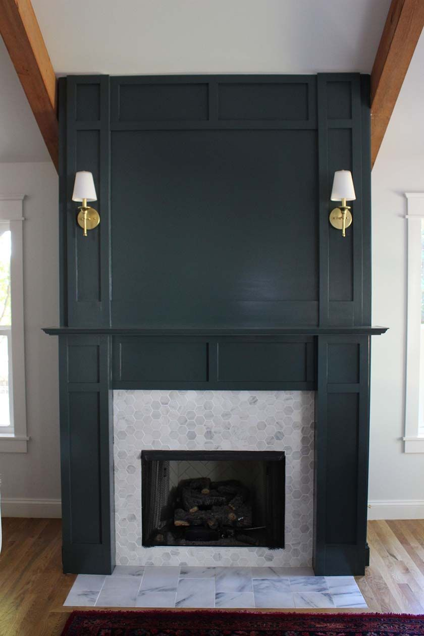 Diy Faux Fireplace Surround Faux Fireplace Fireplace Surrounds And Living Rooms