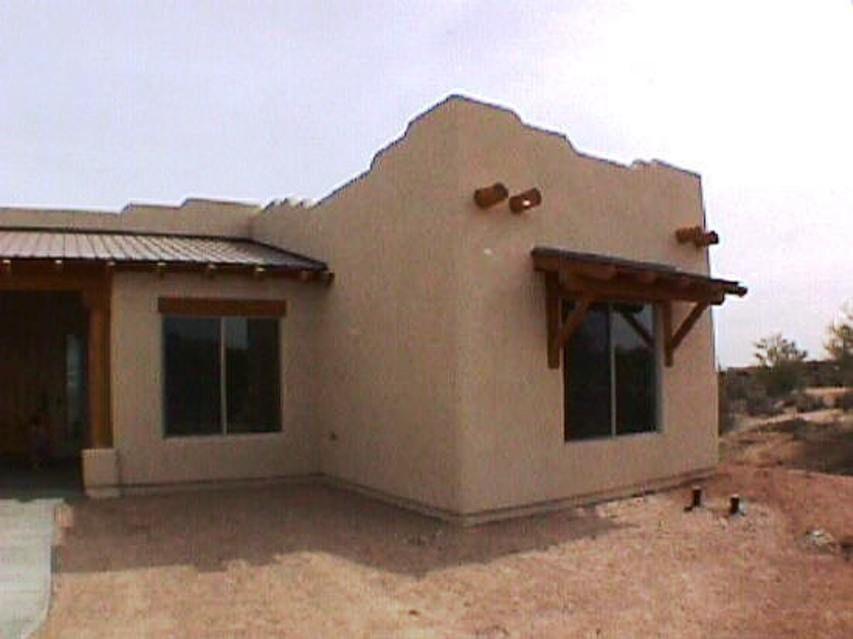 Southwest Custom Home Territorial Custom Home Sw Custom Home Custom Homes Spanish Style Homes Windows Exterior