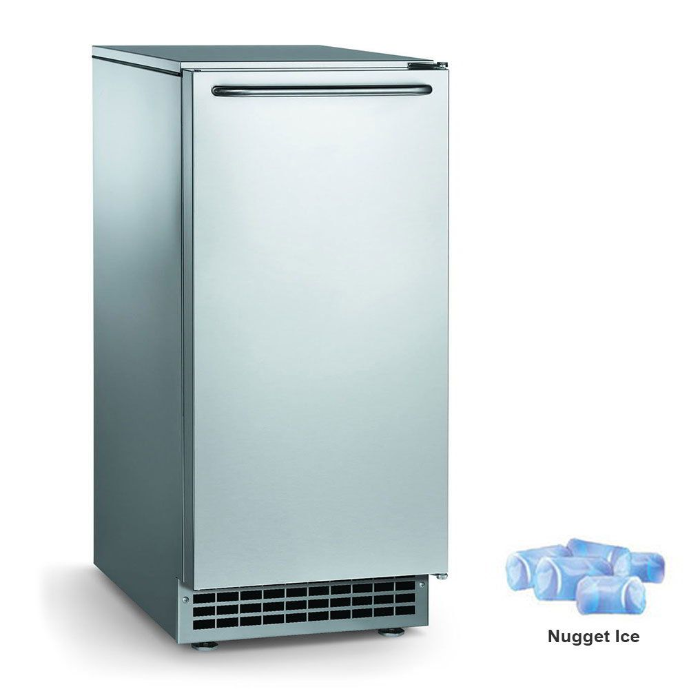 Iceomatic gemu090 14 78w nugget undercounter ice maker