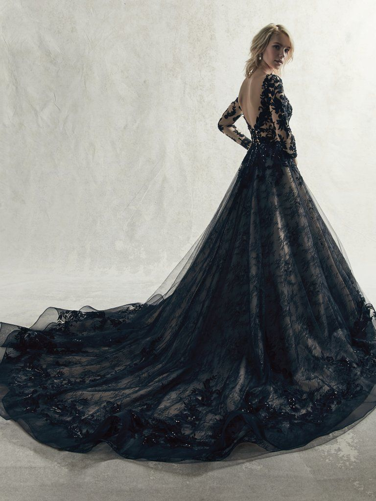 Zander By Sottero And Midgley Wedding Dresses In 2020 Black