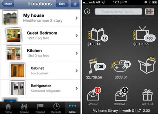 get organized 6 home inventory apps organizing pinterest home