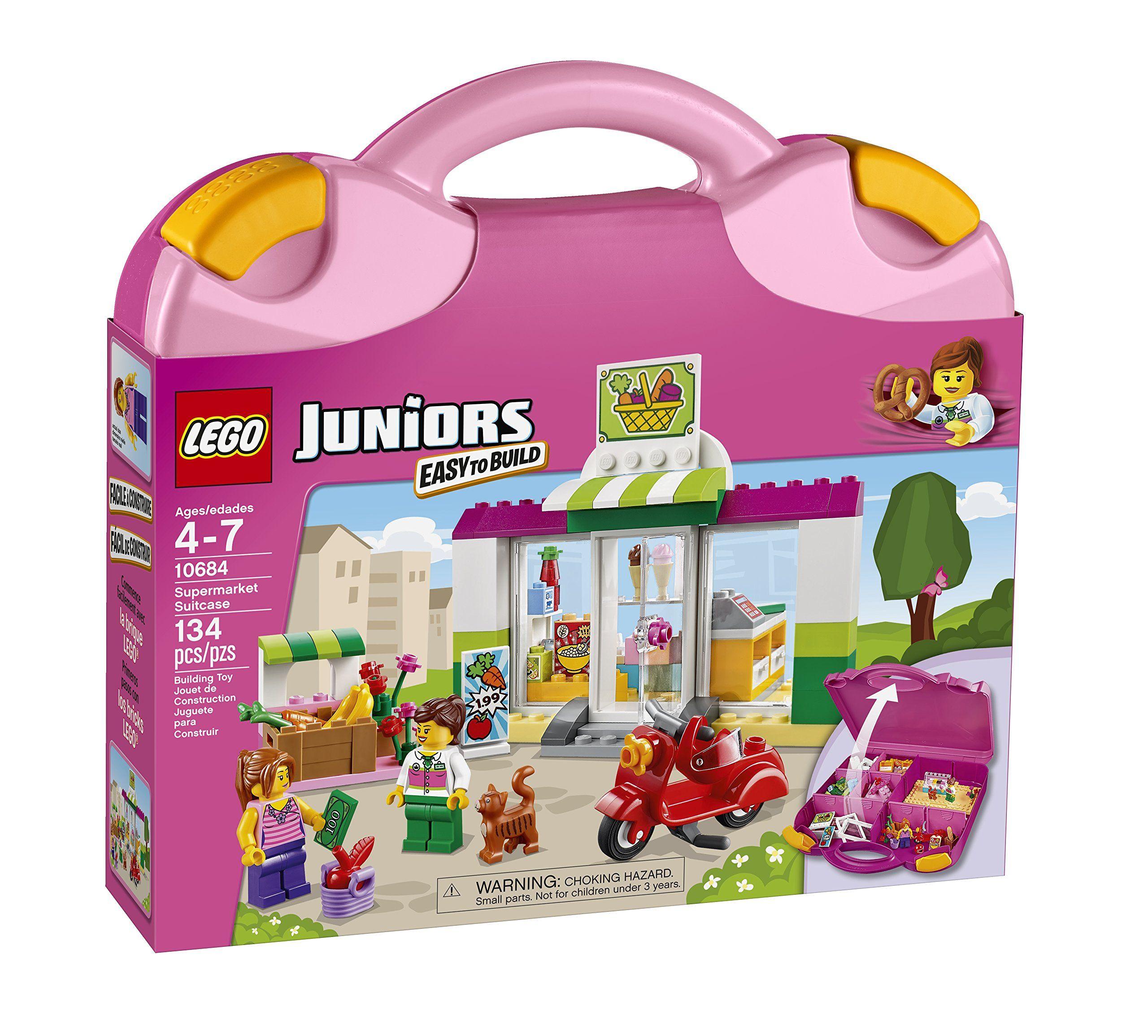 Lego Juniors Supermarket Suitcase Ruthie Asked For Girl Legos