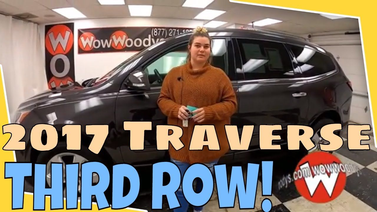 2017 Chevrolet Traverse LT Video Walkthrough WowWoodys in