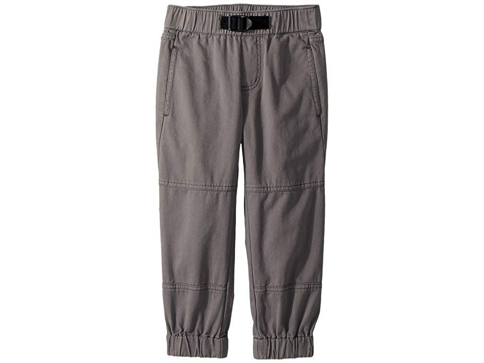 Stella McCartney Kids Almond Banded Cotton Joggers ToddlerLittle KidsBig Kids Grey Boys Casual Pants Theyll hit the playground running in these Stella McCartney Kids Almo...